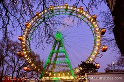 The Giant Ferris Wheel And Its Square